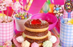 παιδικό πάρτυ για κορίτσια γλυκά
