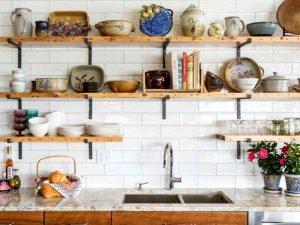 ραφια κουζινας