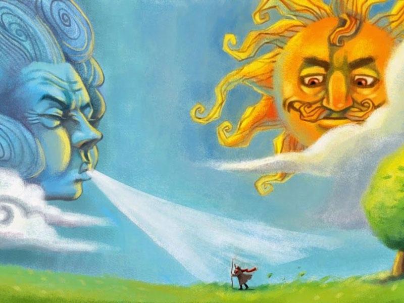 ηλιος και αερας