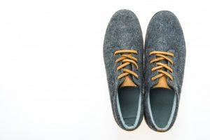 Ανατομικά γκρίζα παπούτσια