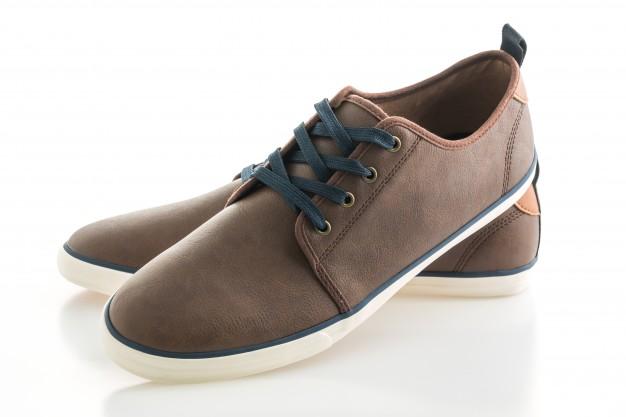 Καφέ ανδρικά παπούτσια καθημερινής γραμμής