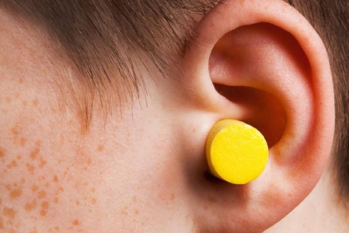 Ωτοασπίδα σε παιδικό αυτί